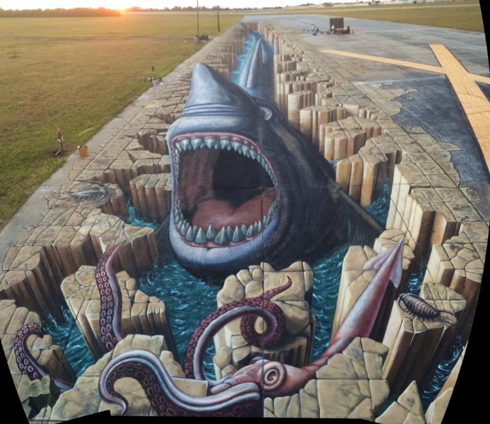 3D XXL Weltrekordbild Florida