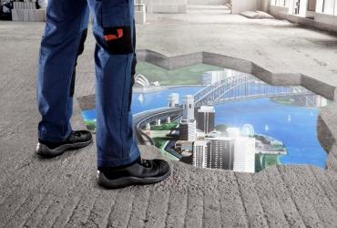 3D streetart freddart Sydney