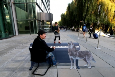 3D streetart in der Autostadt Wolfsburg 2017 by FreddArt