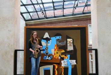 Musizieren mit Picassos Musikanten