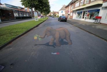 Der traurige Elefant