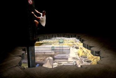 3D Streetart Jahrhunderthalle Bochum für URBANATIX by FreddArt