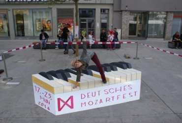 3D Strassenmalerei in Augsburg Bayern
