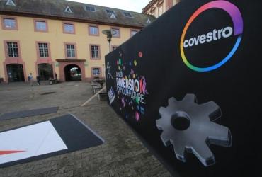3D streetart Covestro by FreddArt09
