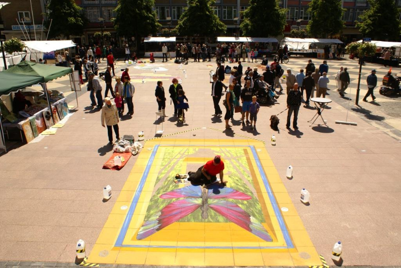 International 3D Streetpaintingfestival Kerkrade 2013