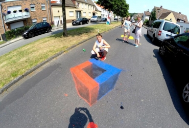Individueller 3D Streetart Workshop
