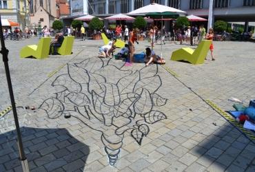 Streetartworkshop beim Streetartfestival Ingolstadt 2013