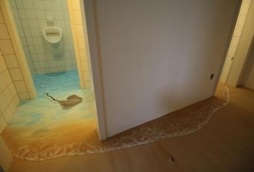 Innenraumgestaltung mit Illusionsmalerei in Essen 2017 by FreddArt
