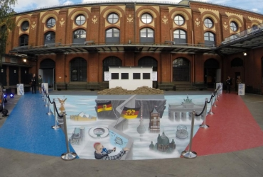 3D Strassenmalerei in Berlin