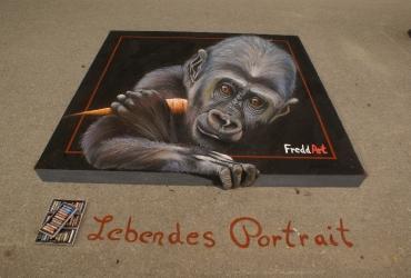 3D Strassenmalerei in Blumberg