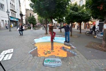 3D Strassenmalerei in Bonn NRW