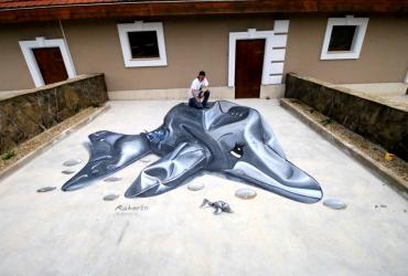 Aufblasbarer Delfin
