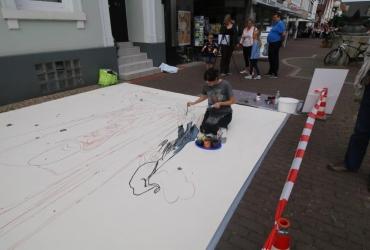 3D streetart Wilhelm Busch Tage Stadthagen06