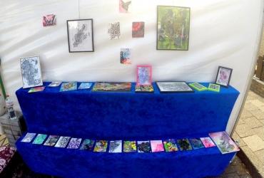 Jamilas Kunstausstellung