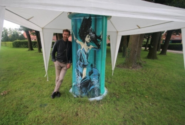 International Streetart Festival Sögel 2016 follow up