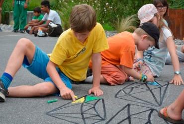 3D Strassenmalerei Workshop in der Schweiz