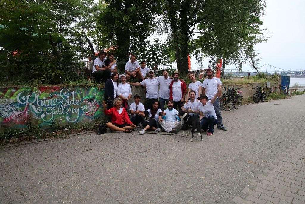 Rhine Side Gallery die Künstler Gruppe